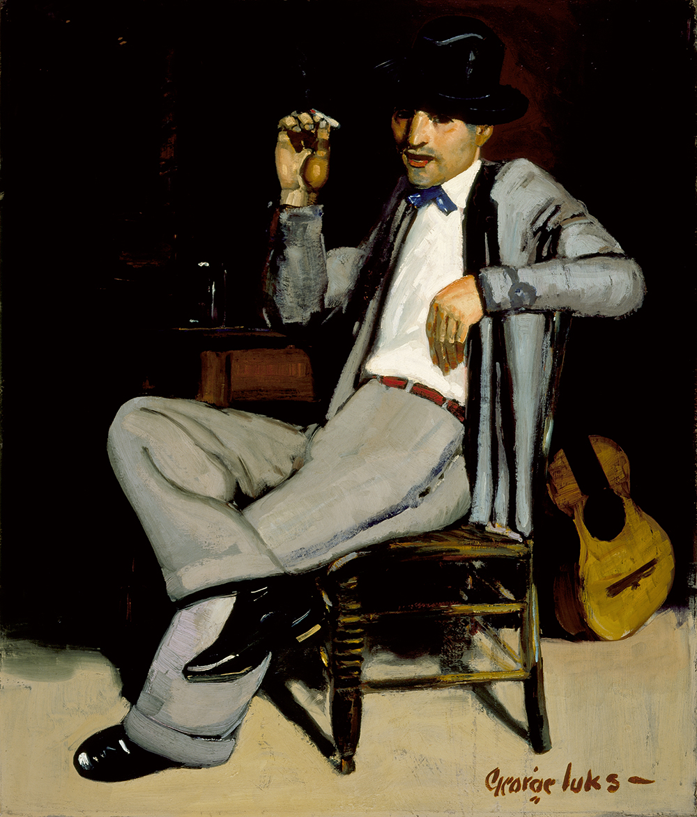 Pedro, by George Benjamin Luks, c. 1920. The Los Angeles County Museum of Art, Mr. and Mrs. William Preston Harrison Collection.