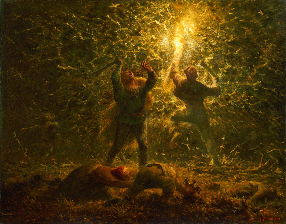 Bird's-Nesters, by Jean-François Millet, 1874. Wikimedia Commons, Philadelphia Museum of Art.