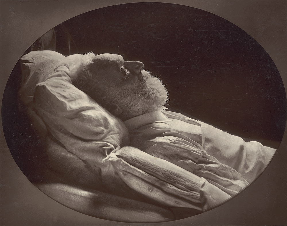 Victor Hugo on His Deathbed, by Nadar, 1885. © The J. Paul Getty Museum, Los Angeles. Digital image courtesy of the Getty's Open Content Program.