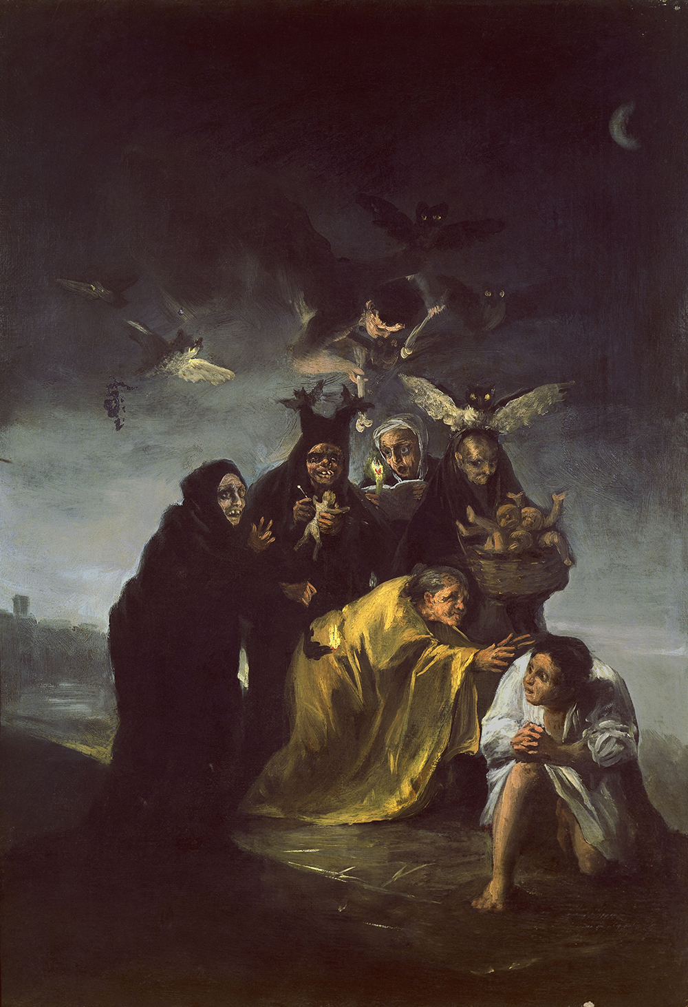 The Incantation or The Witches, by Francisco Goya, c. 1797. © Album/Art Resource, NY.
