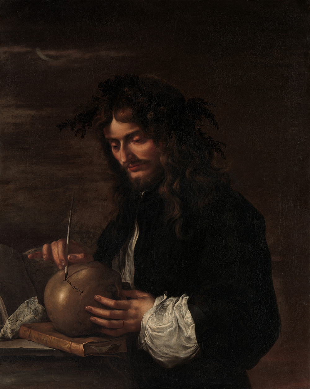 Self-Portrait, by Salvator Rosa, c. 1647. © The Metropolitan Museum of Art, Bequest of Mary L. Harrison, 1921.