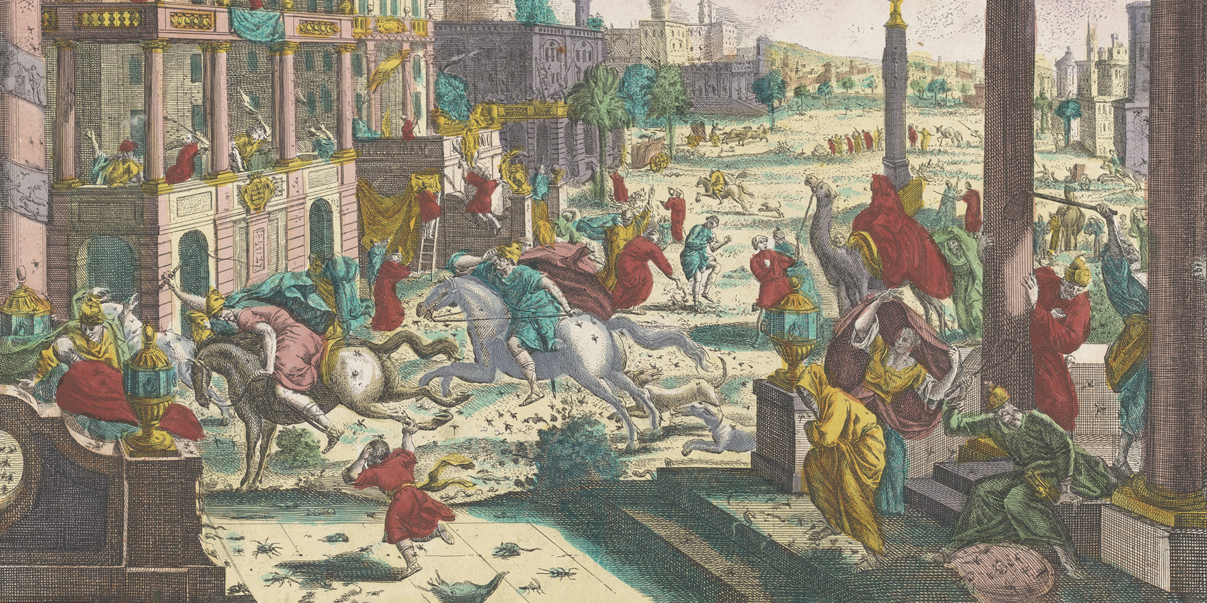 The Fourth Plague of Egypt, anonymous etching printed by the Kaiserlich Franziskische Akademie, c. 1779
