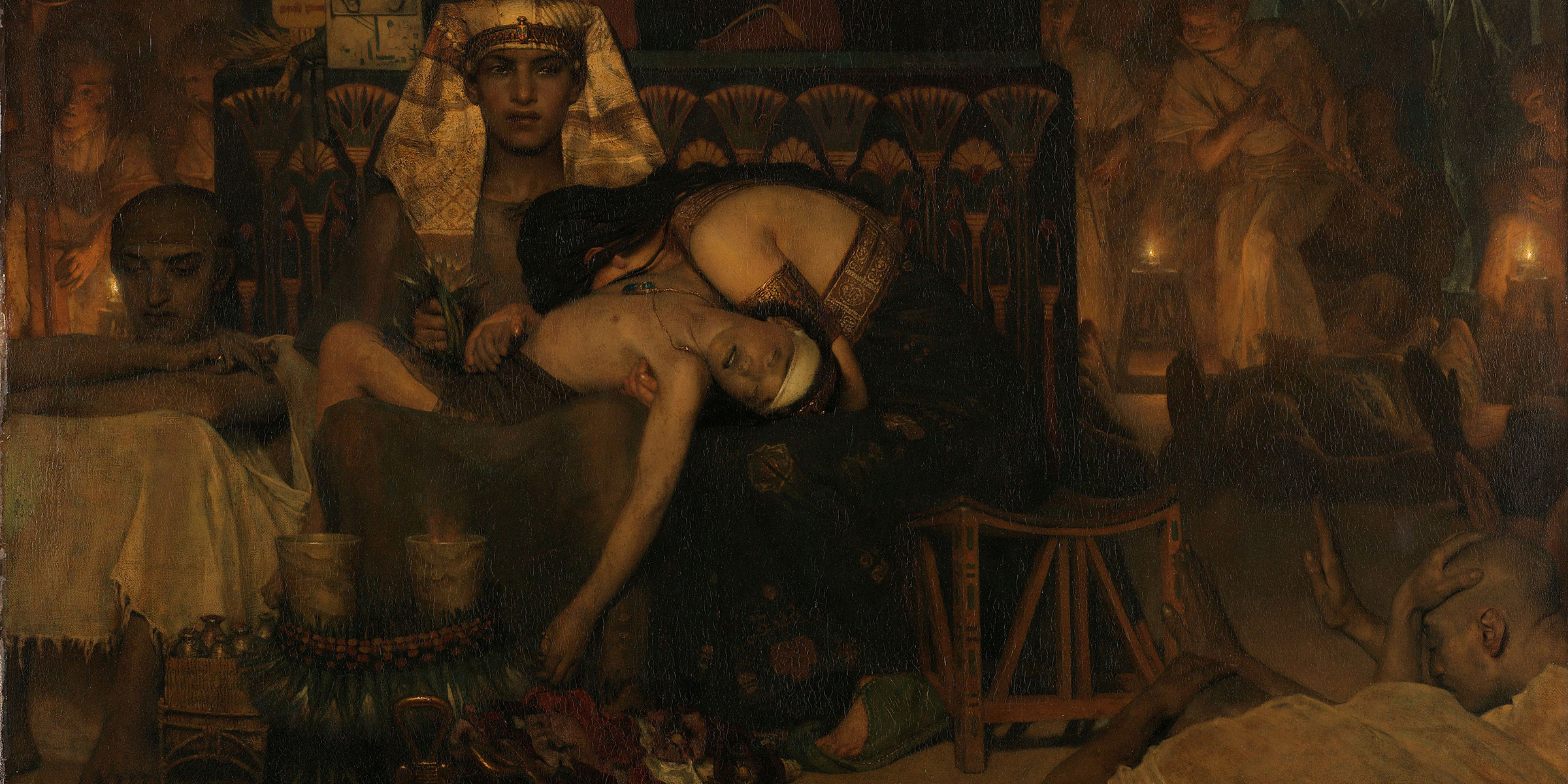 The Death of the Pharaoh's Firstborn Son, by Lawrence Alma-Tadema, 1872