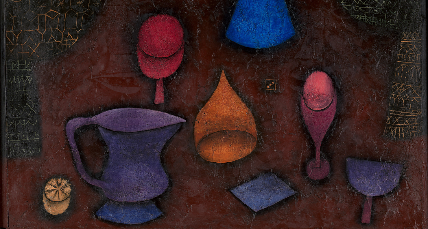 Still Life (detail), by Paul Klee, 1927. The Metropolitan Museum of Art, The Berggruen Klee Collection, 1984.
