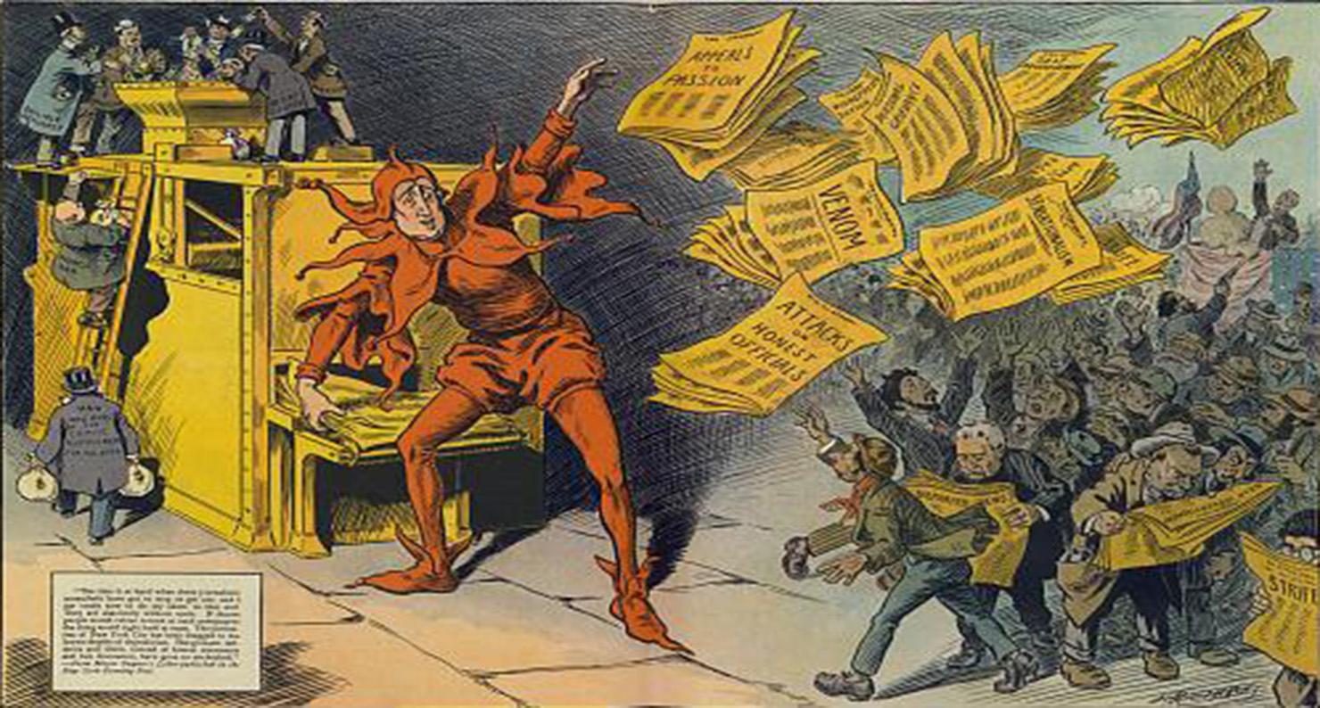 The yellow press.