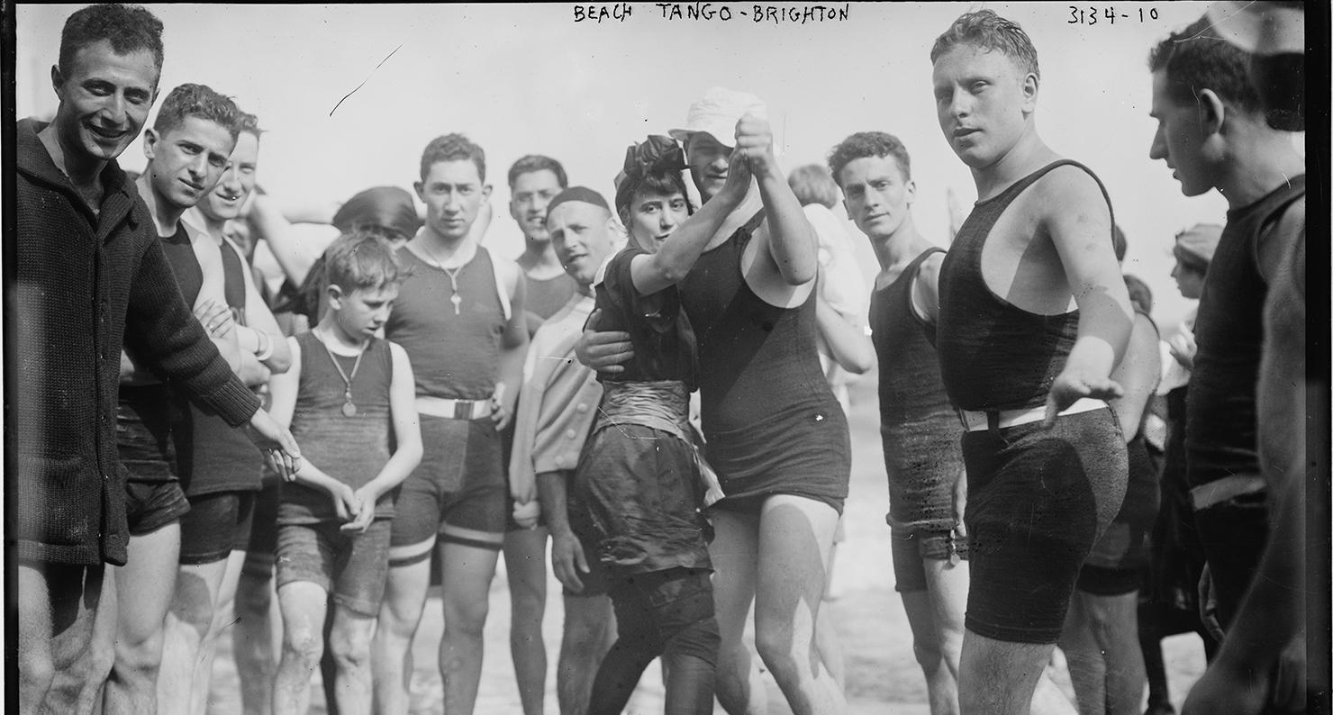 Beach Tango, Brighton Beach, Brooklyn, NY, ca. 1910–15