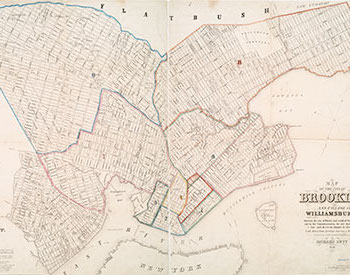 A map of Brooklyn from 1846.