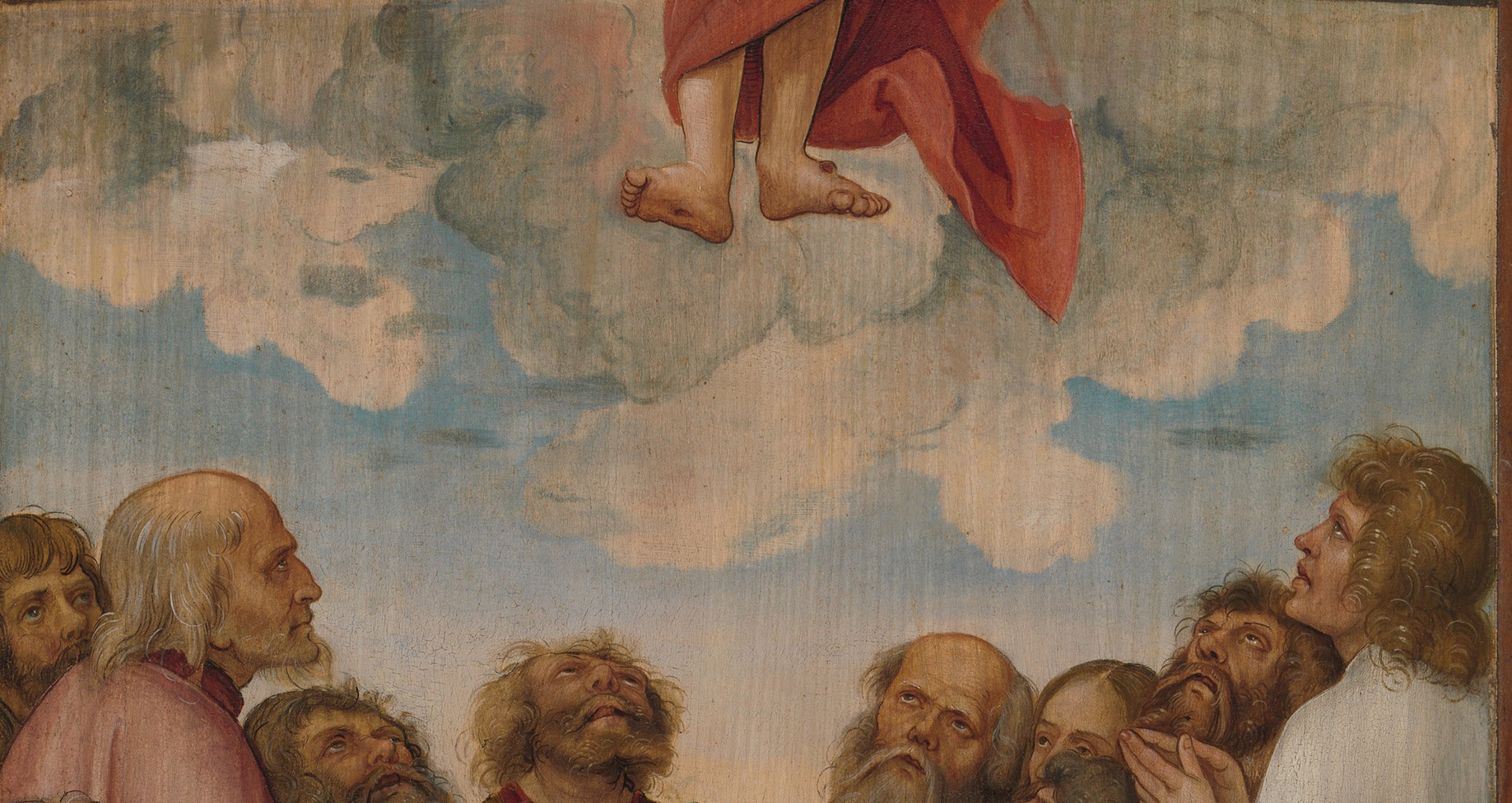 The Ascension of Christ.