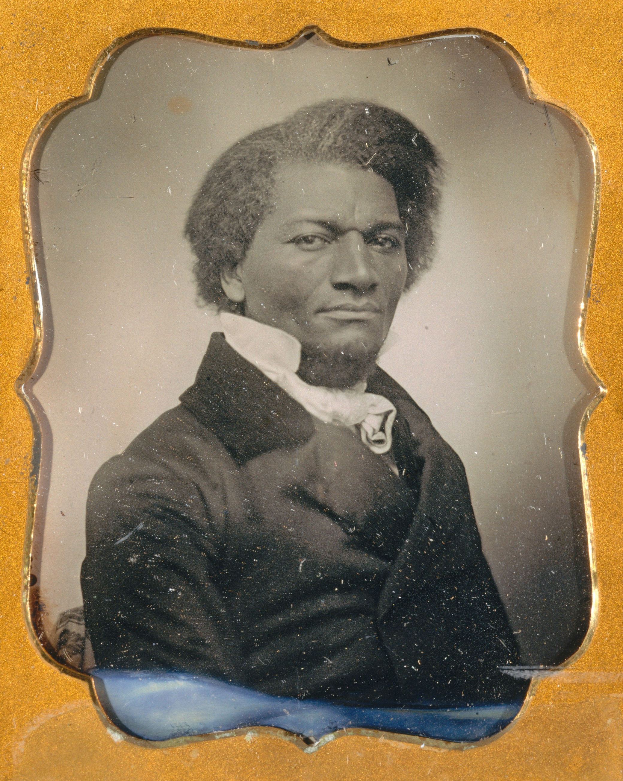 Frederick Douglass, c. 1855. The Metropolitan Museum of Art, The Rubel Collection, Gift of William Rubel, 2001.