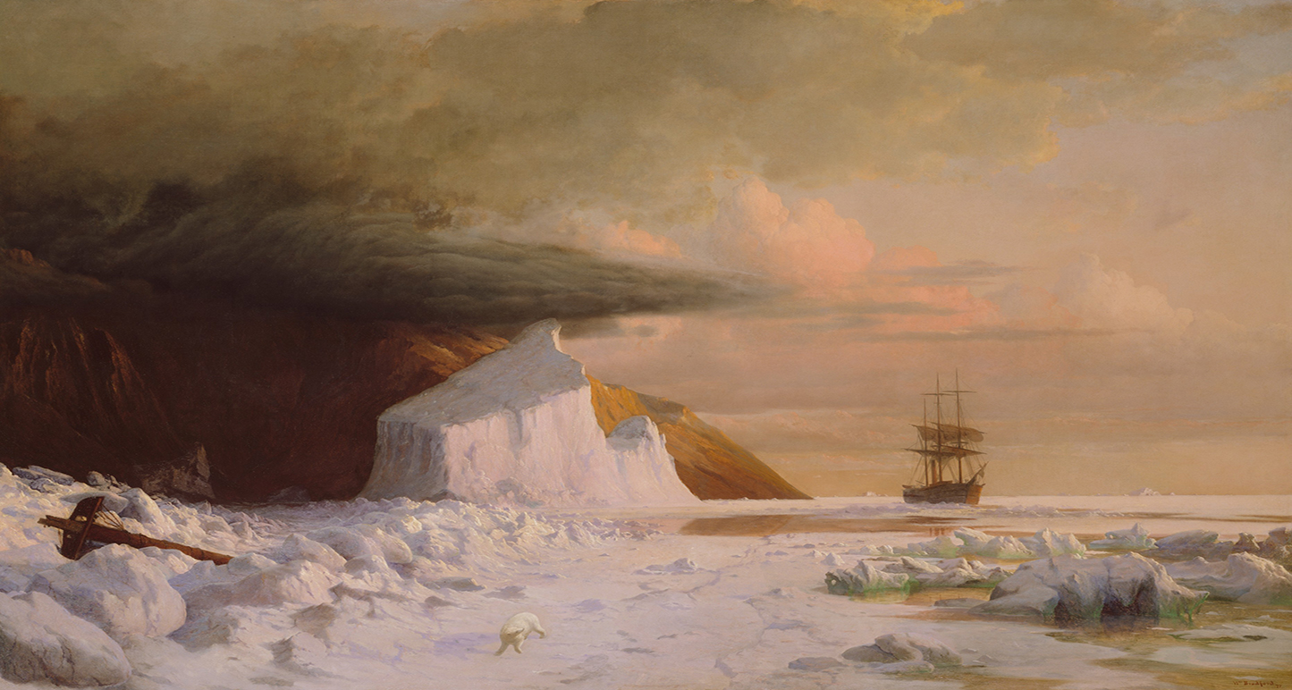 An Arctic Summer: Boring Through the Pack in Melville Bay.