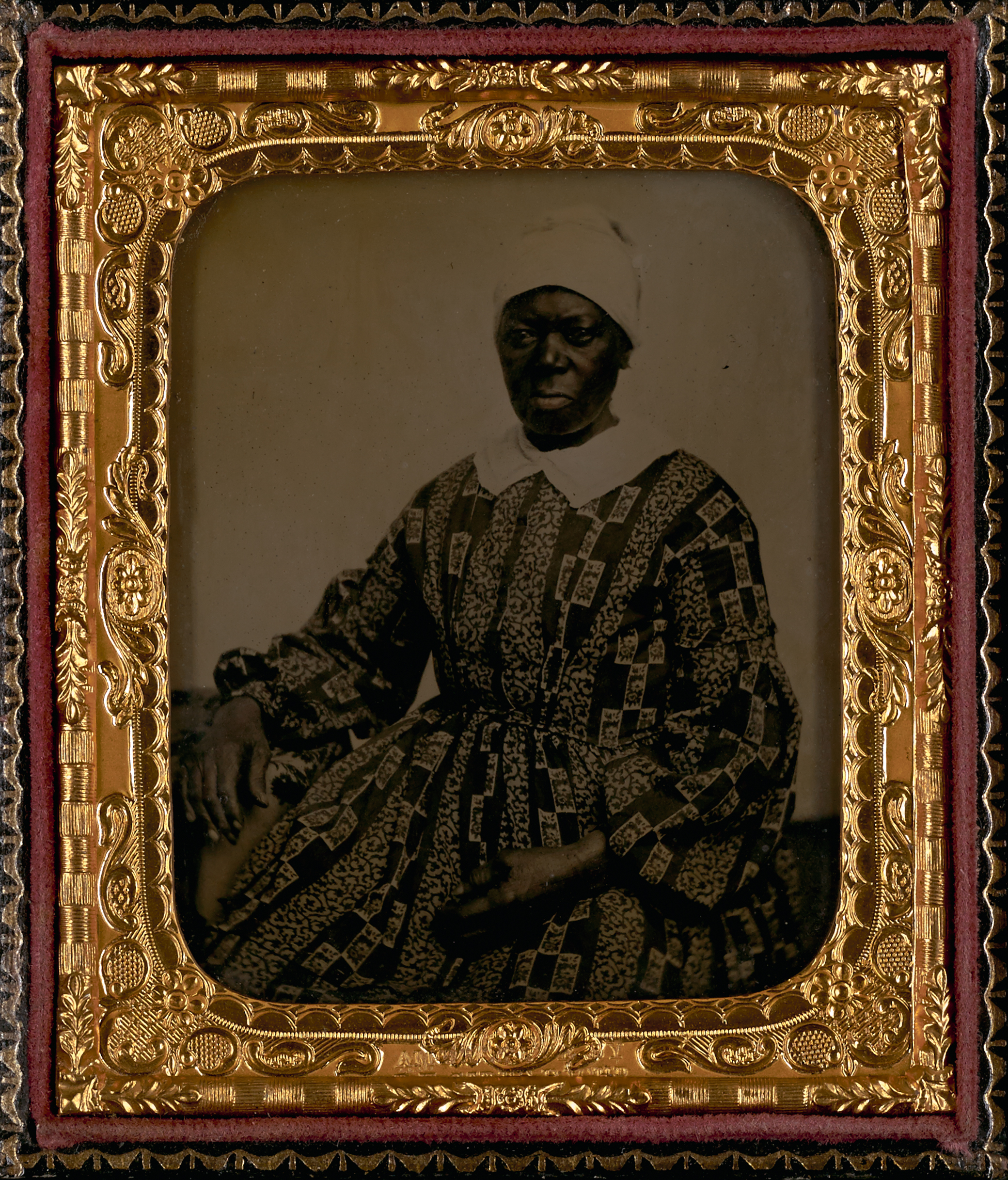 """""""Mammy Kitty,"""" c. 1860, ambrotype.  Ellis Family Daguerreotypes, Accession #2516-c, Albert and Shirley Small Special Collections Library, University of Virginia."""