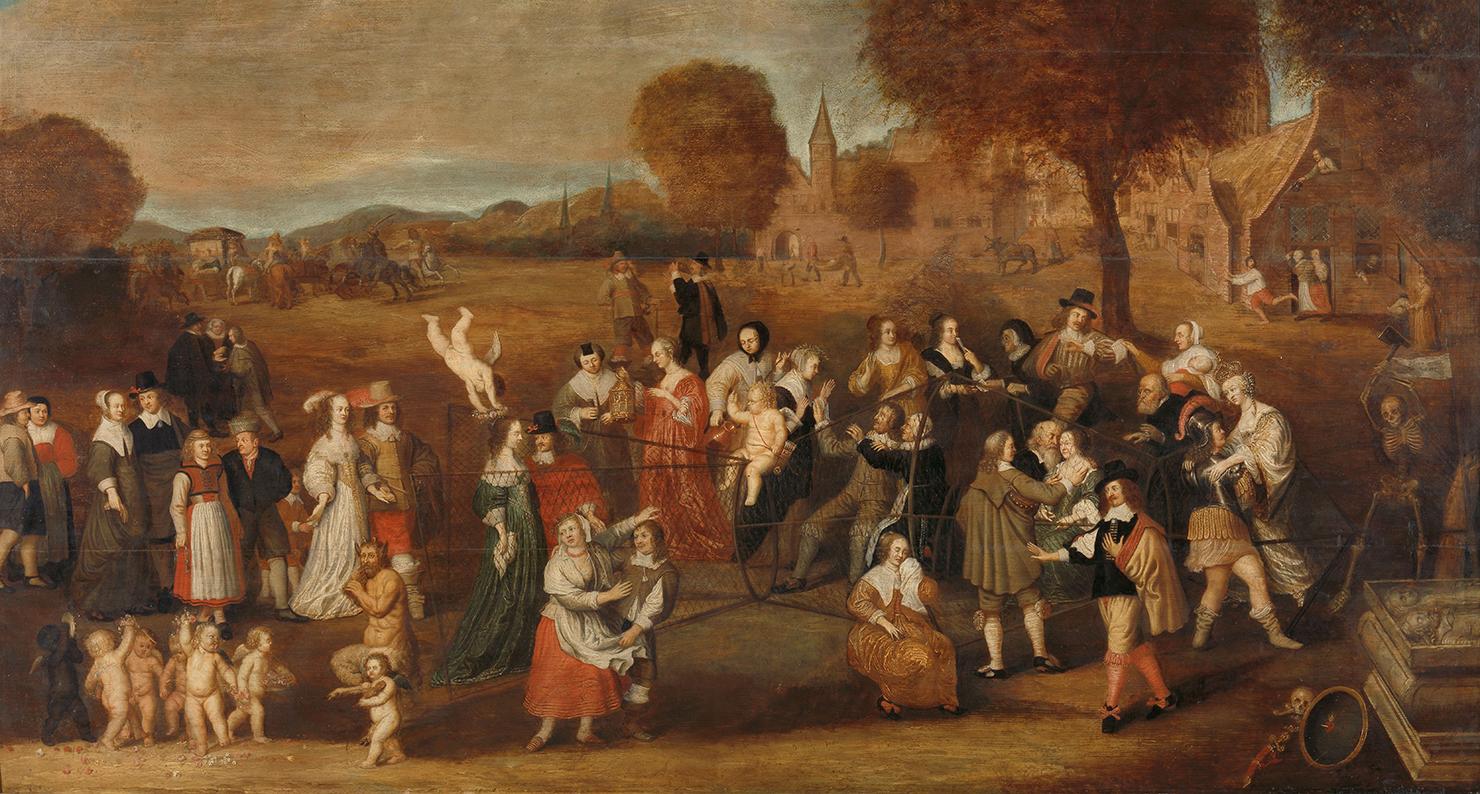 The Marriage Trap: An Allegory of Marriage, by Hendrik Noorderwiel, 1647. Rijksmuseum, on loan from the Koninklijk Oudheidkundig Genootschap.
