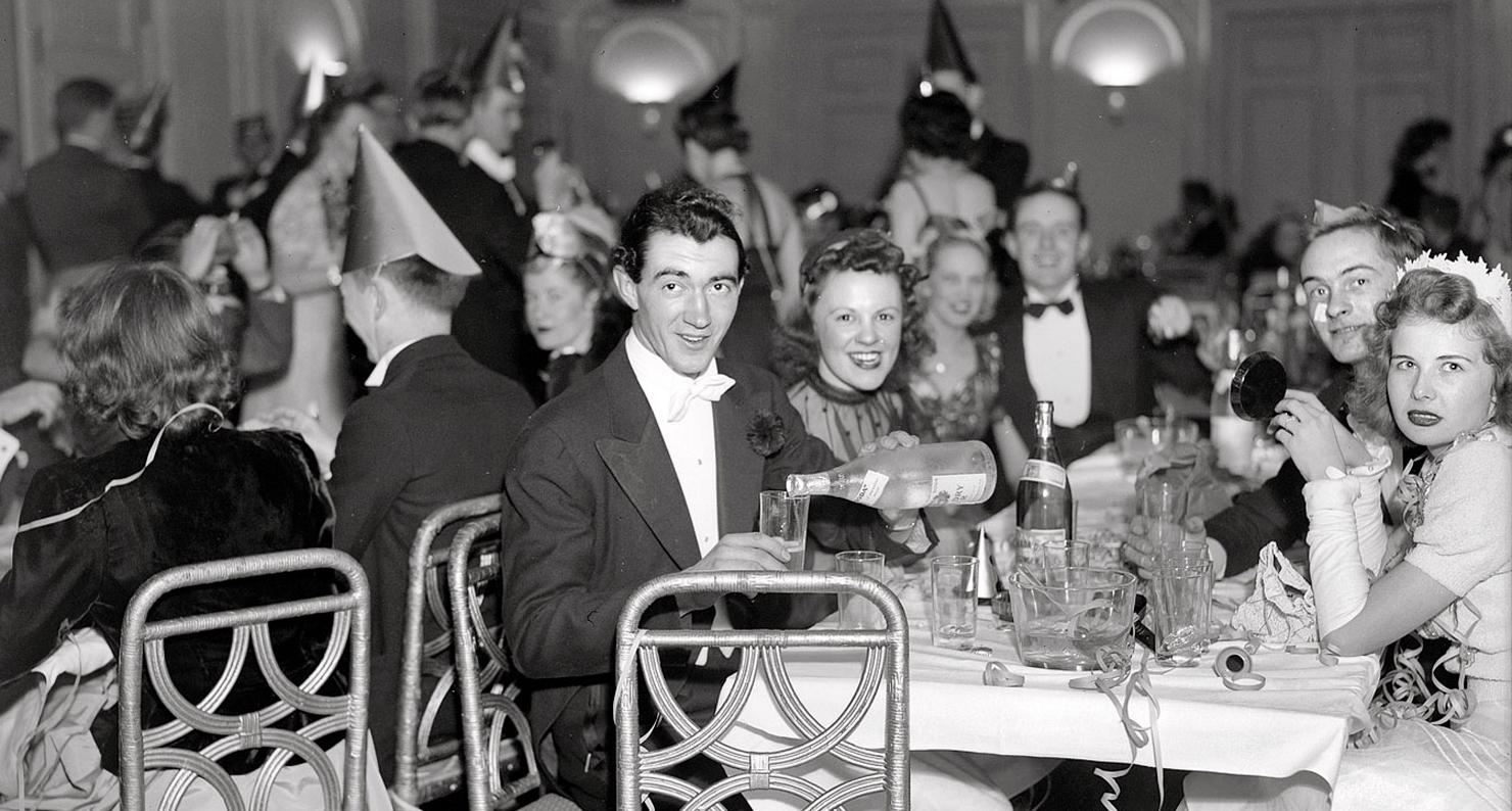 """Washington, D.C. """"New Year celebration, 1940."""""""