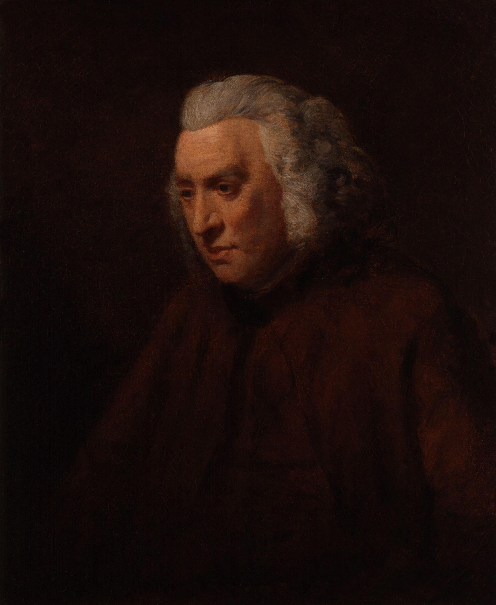 Samuel Johnson, by John Opie. National Portrait Gallery, London.