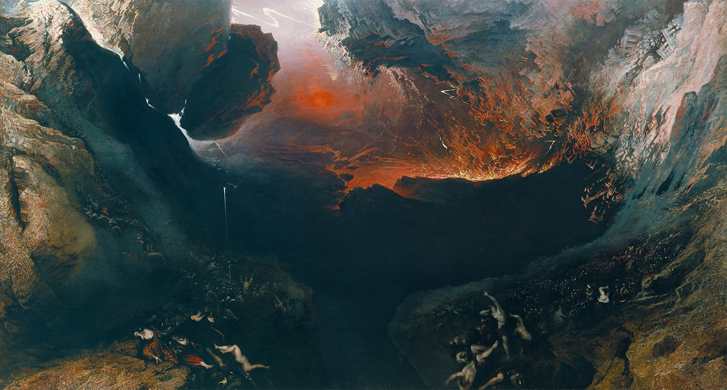 The Great Day of His Wrath, by John Martin, c. 1851.