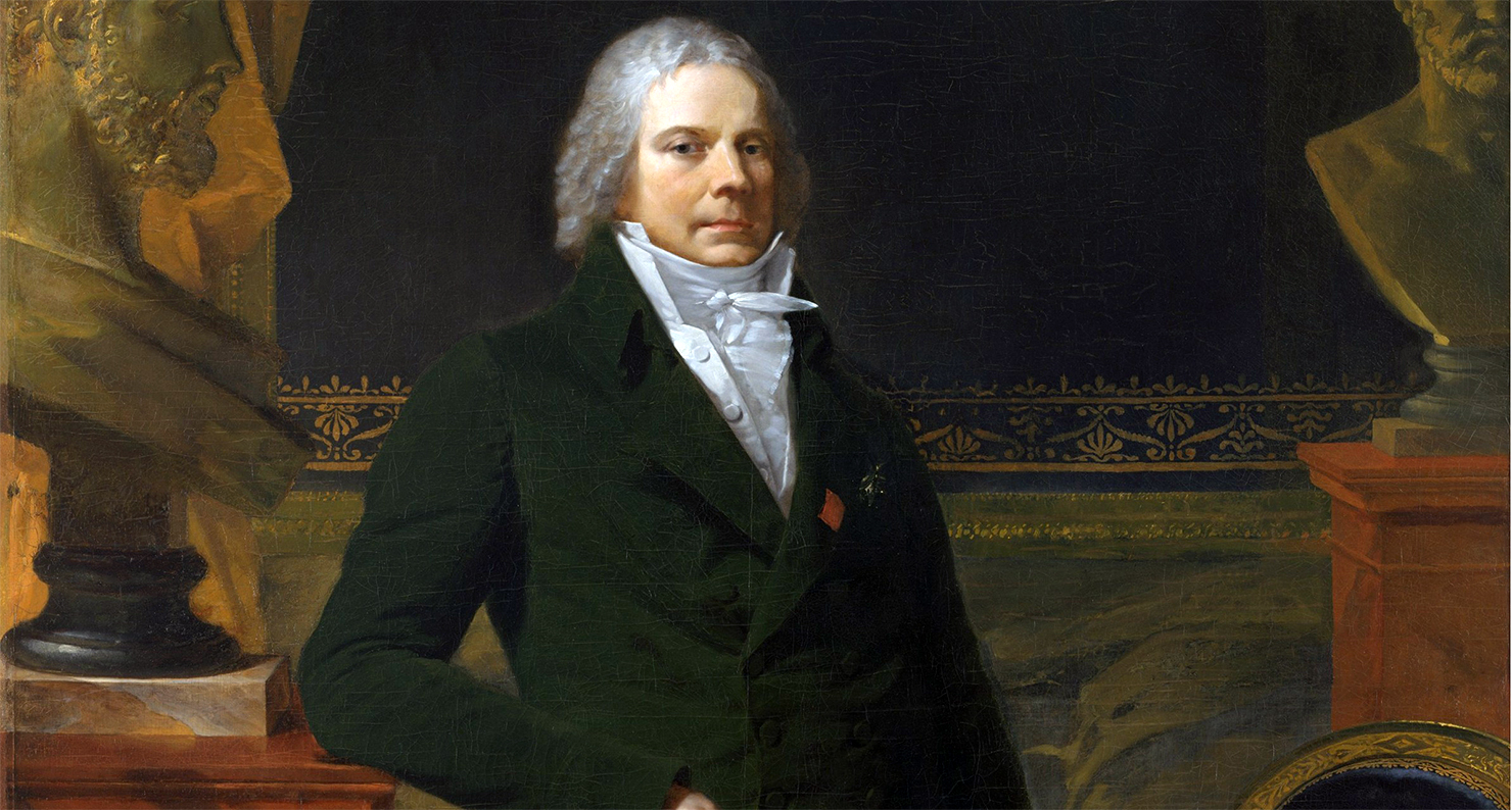 Portrait of Charles-Maurice de Talleyrand-Périgord, by Pierre-Paul Prud'hon.
