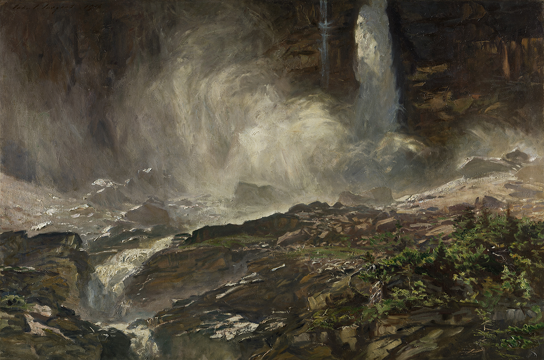 Yoho Falls.