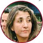 A photograph of Ingrid Betancourt.