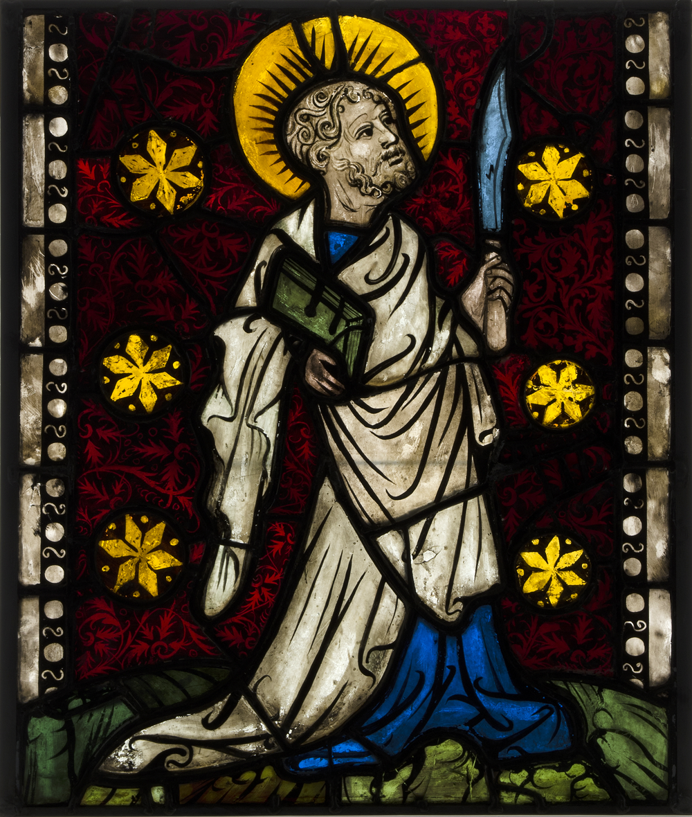 Saint Bartholomew, ca. 1410, Austria. The Metropolitan Museum of Art, the Cloisters Collection, 1930.