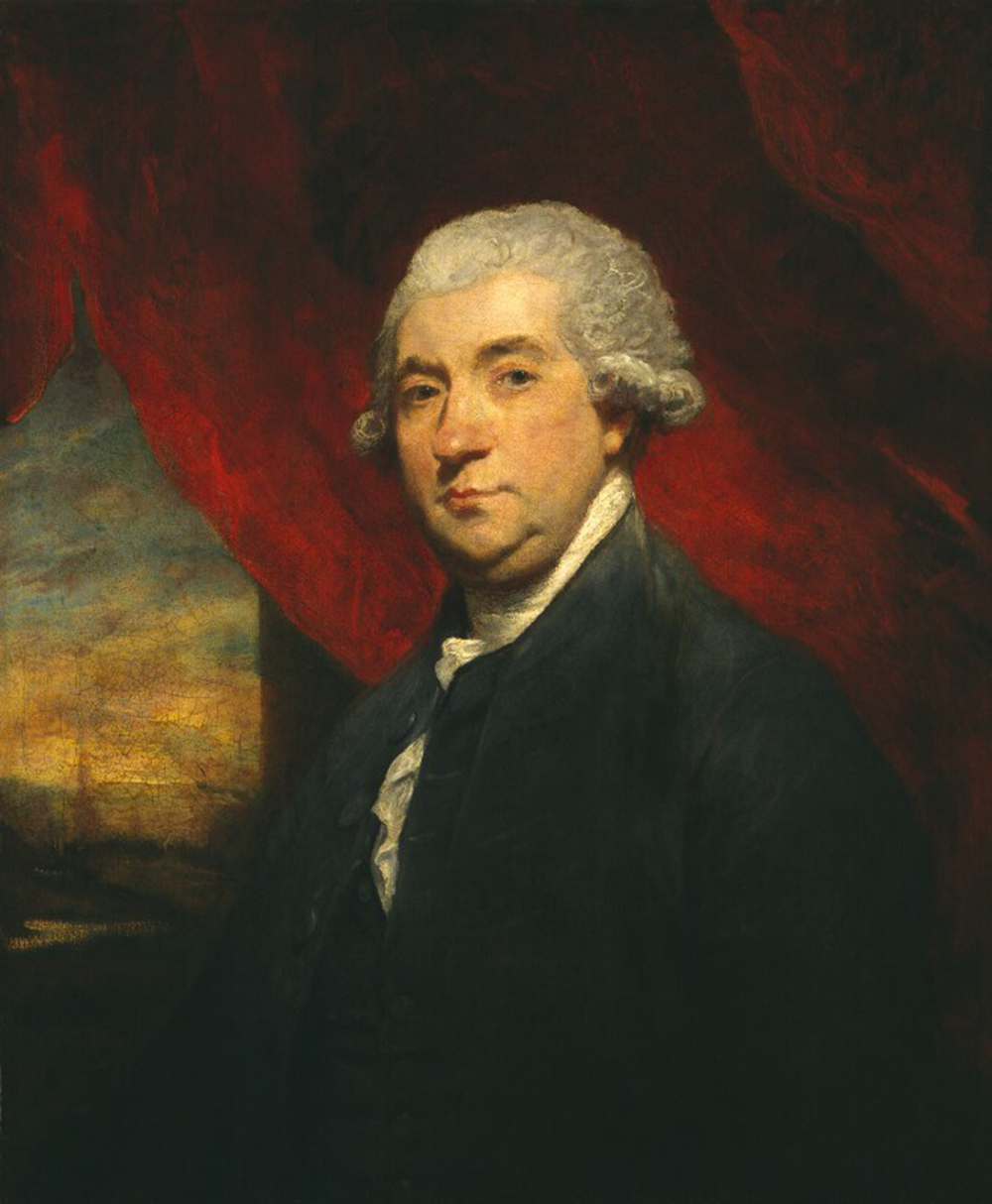 James Boswell, by Joshua Reynolds, 1785. National Portrait Gallery, London.