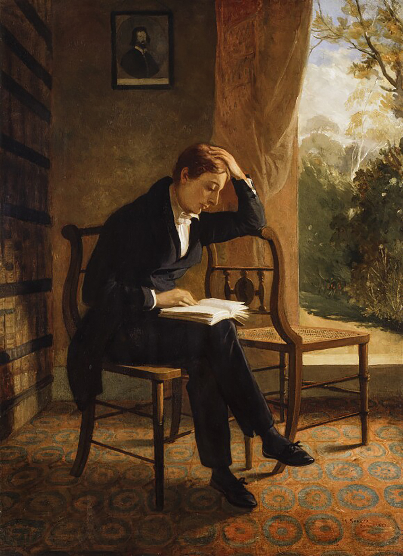 John Keats, by Joseph Severn, c. 1821. © National Portrait Gallery, London.