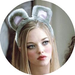 Karen Smith from the movie Mean Girls.