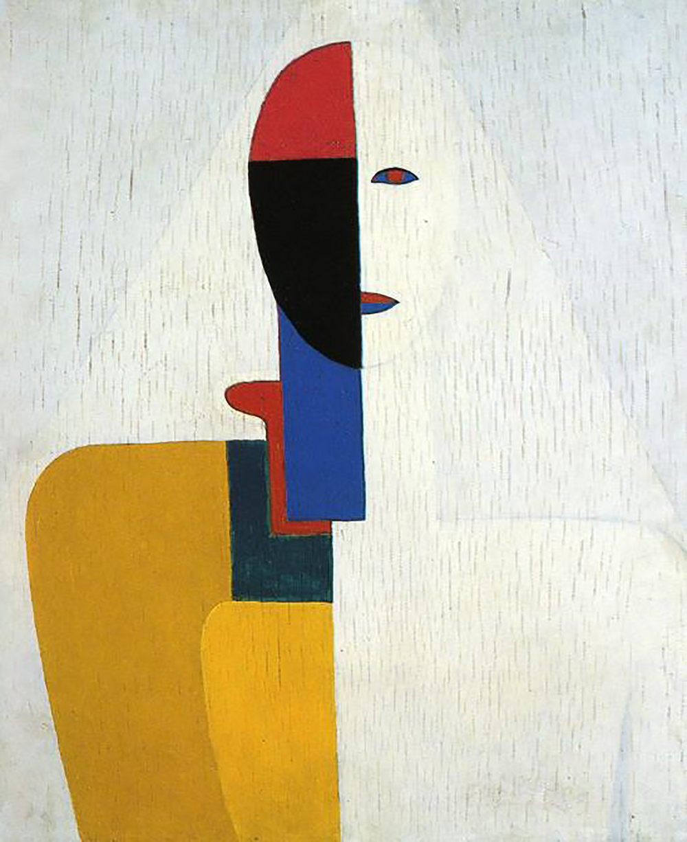 Woman Torso, by Kazimir Malevich, c. 1928.