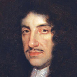 A painting of King Charles II