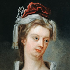 A painting of Lady Mary Wortley Montagu