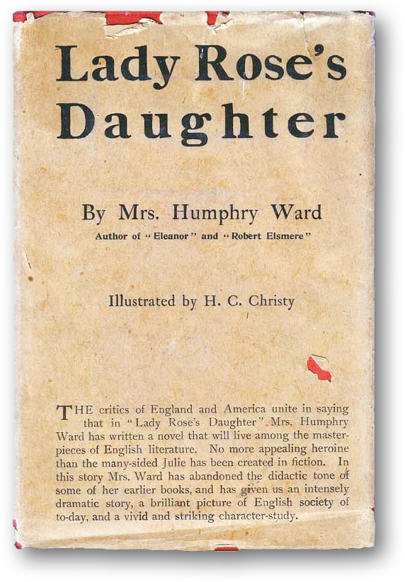 Cover of Lady Rose's Daughter