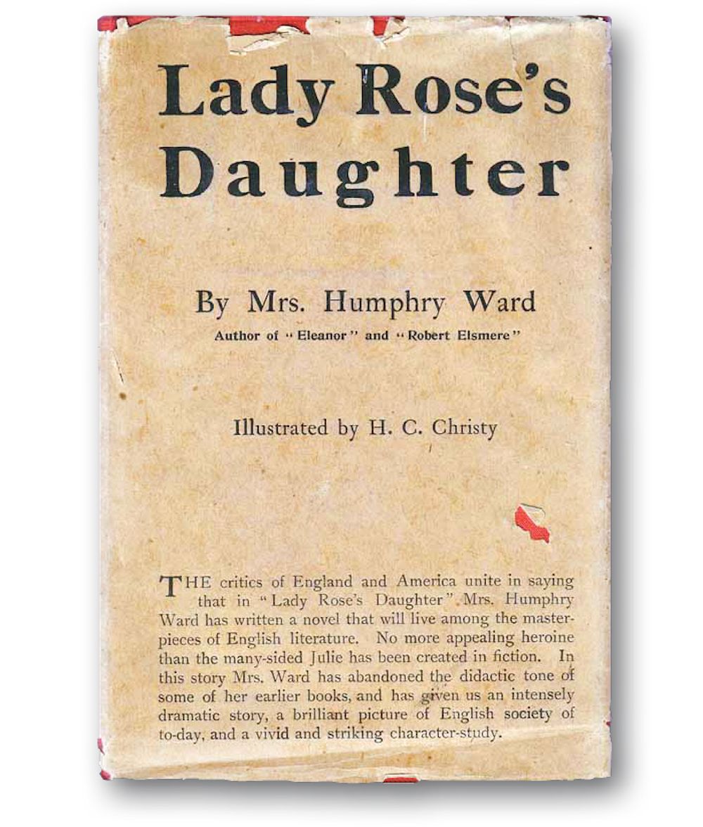 The original American edition of Lady Rose's Daughter.