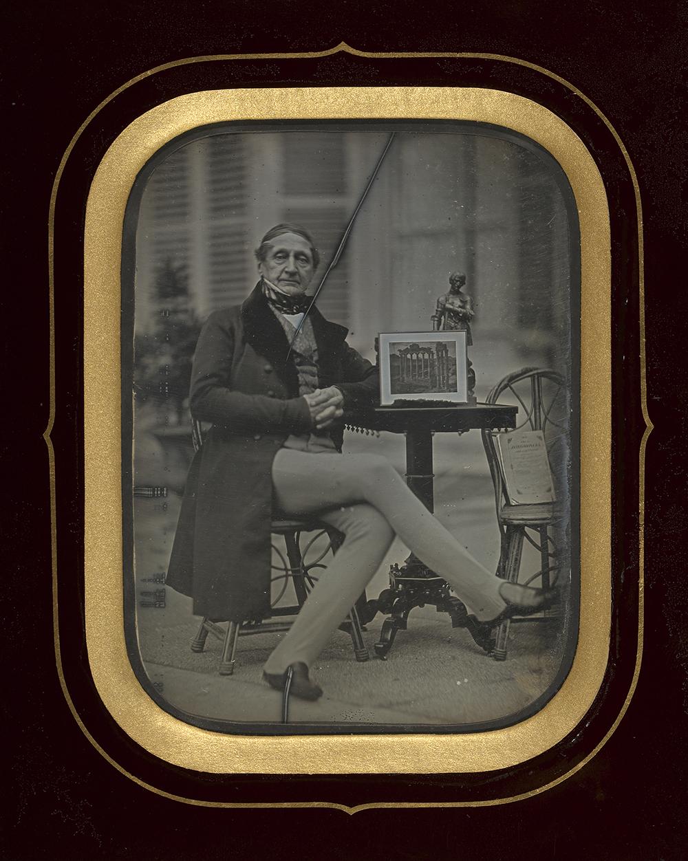 Self-portrait by Jean-Gabriel Eynard, c. 1845. The J. Paul Getty Museum , Los Angeles. Digital image courtesy the Getty's Open Content Program.