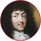 A painting of a young Louis the fourteenth.