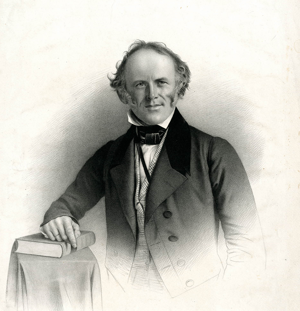 Portrait of Sir Charles Lyell, 1846. © The Trustees of the British Museum.