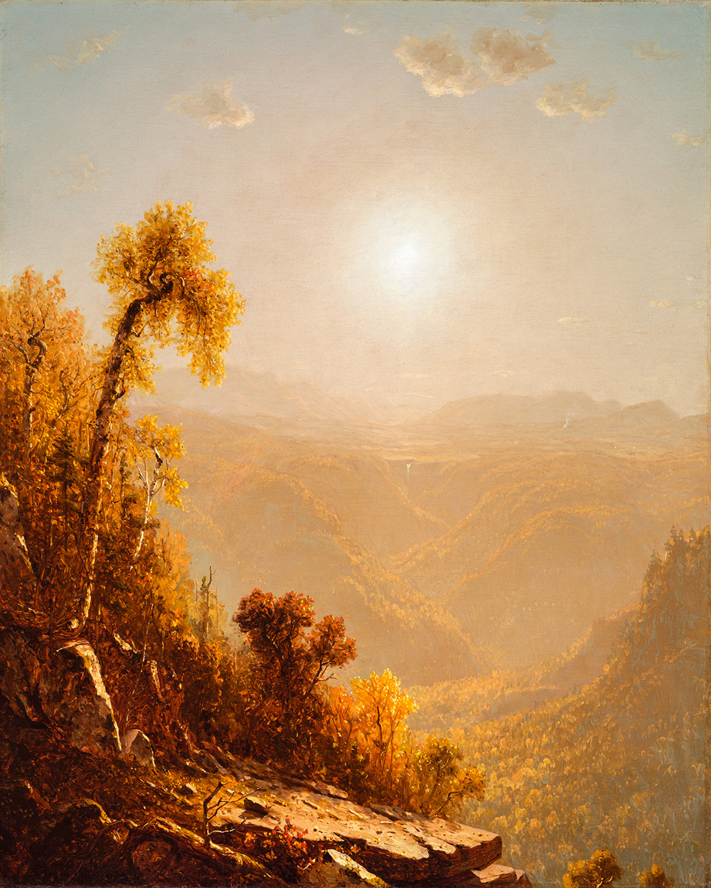 October in the Catskills, by Sanford Robinson Gifford, 1880.