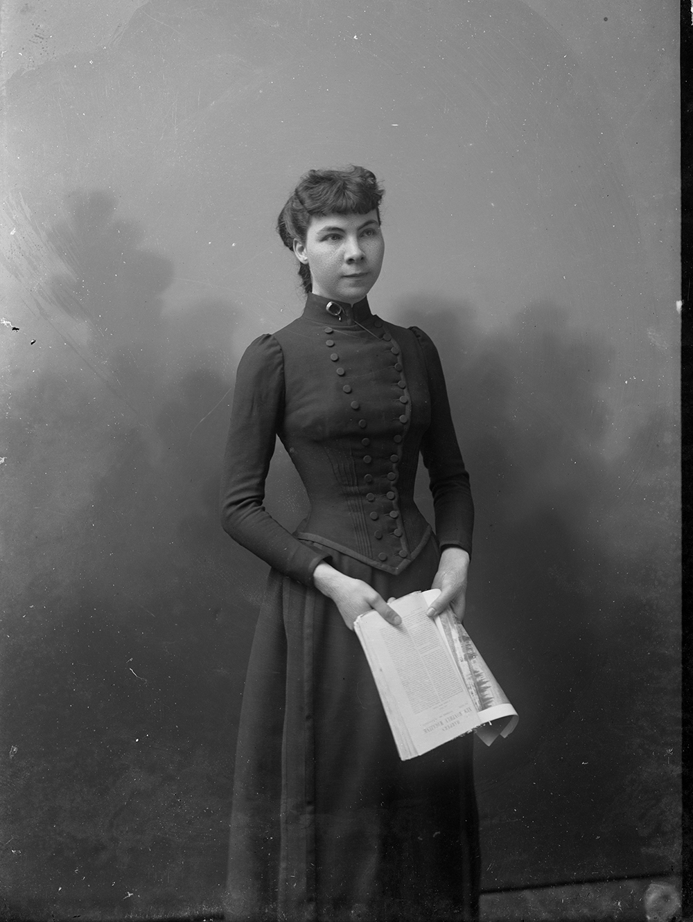 Madeline Pollard, c. 1893. Photograph by C.M. Bell. Library of Congress, Prints and Photographs Division.