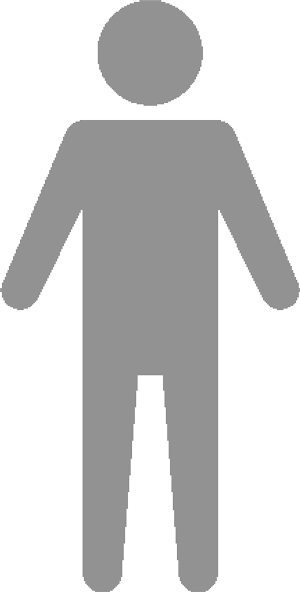 An icon representing a man.
