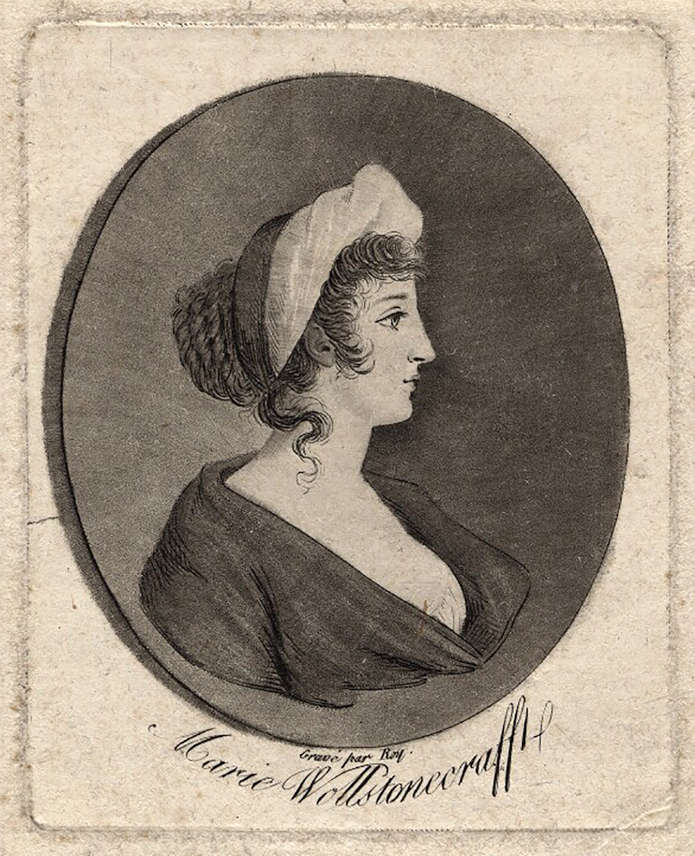 Mary Wollstonecraft, by Roy, after unknown artist, early nineteenth century.