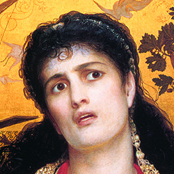A painting of Medea.