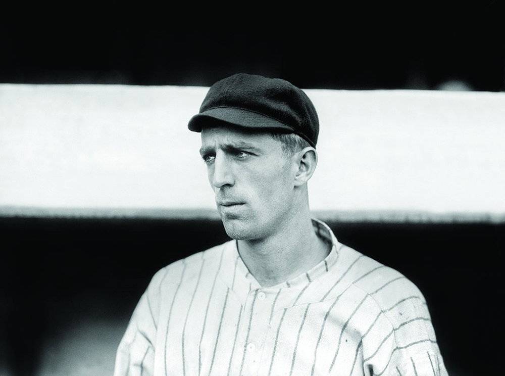 New York Giant Fred Merkle, 1912. Photograph by Charles Martin Conlon.