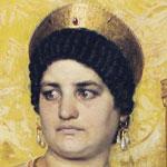 A painting of Valeria Messalina