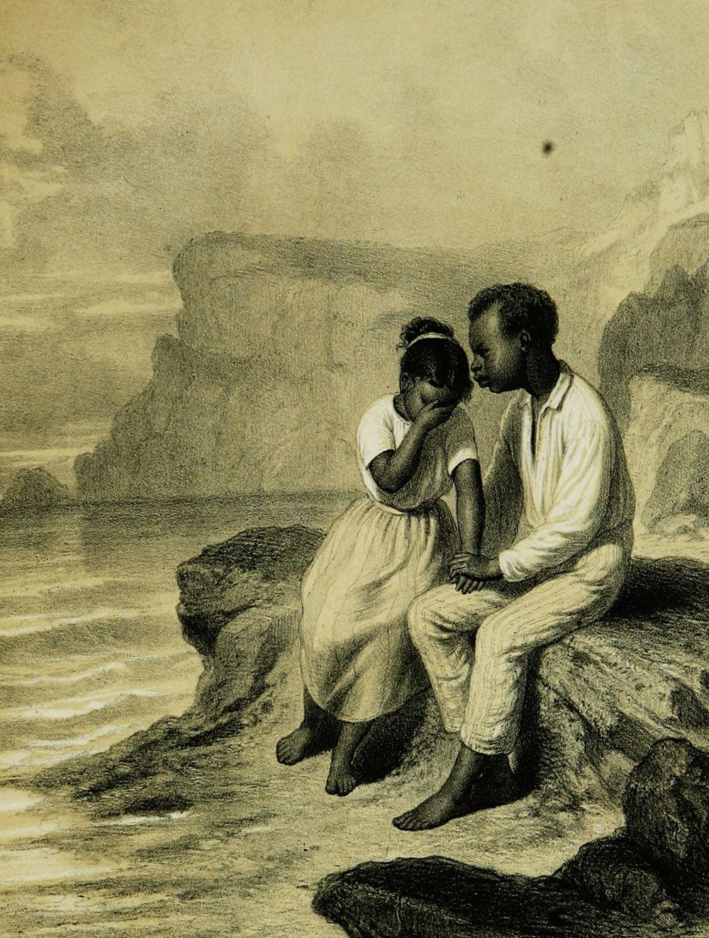 Illustration from L'Esclave de Saint-Domingue, by Michel Möring, 1860.