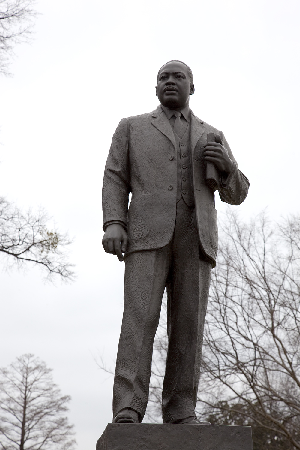 Statue of Dr. Martin Luther King Jr. in the Kelly Ingram Park, Birmingham, AL, 2010. Photograph by Carol M. Highsmith. Library of Congress, Prints and Photographs Division.