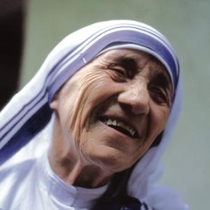 A photograph of Mother Teresa