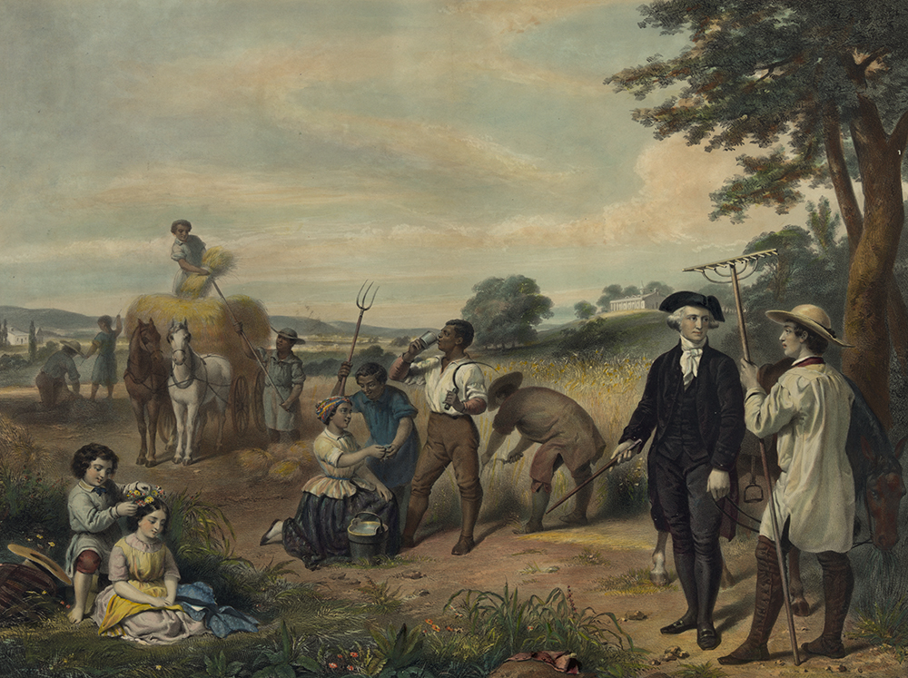 Life of George Washington, by Junius Brutus Stearns, c. 1853. Library of Congress, Prints and Photographs Division.