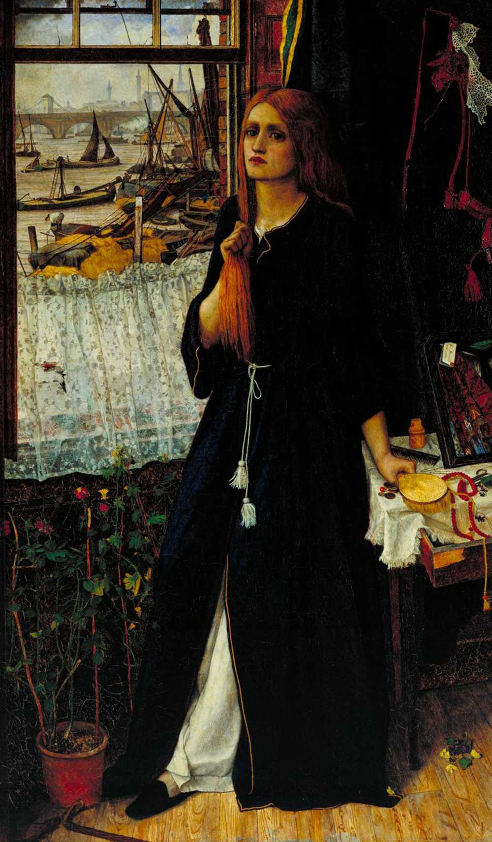 Thoughts of the Past, by John Roddam Spencer Stanhope, c. 1859.