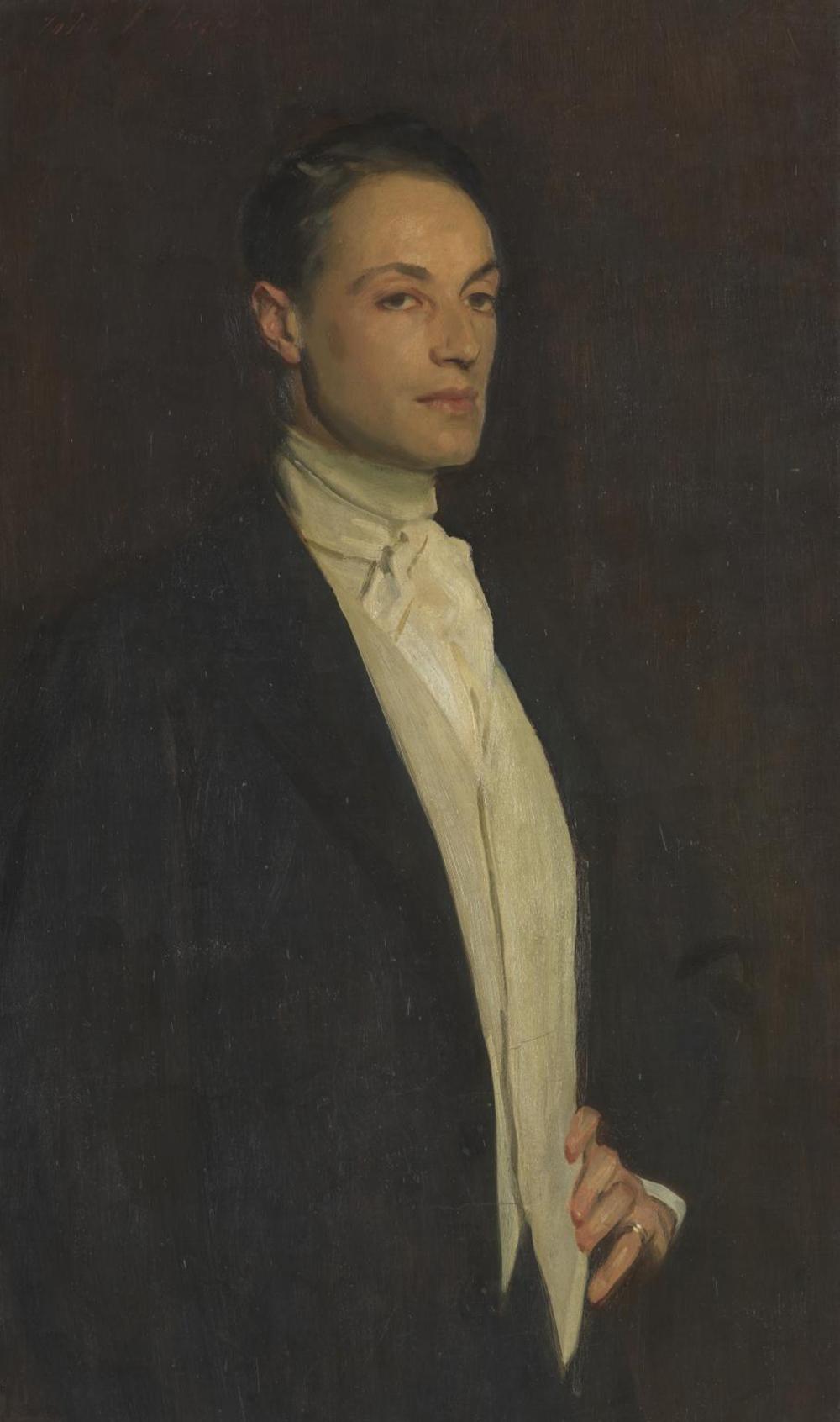 Sir Philip Sassoon, by John Singer Sargent, 1923.