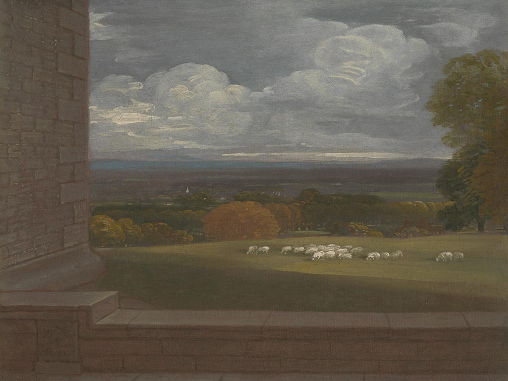 View from the Terrace at Windsor, by Benjamin West, c. 1792.