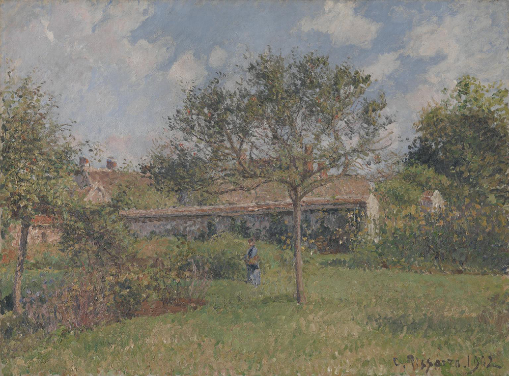 A Corner of the Meadow at Eragny, by Camille Pissarro, 1902. Photograph © Tate (CC-BY-NC-ND 3.0).