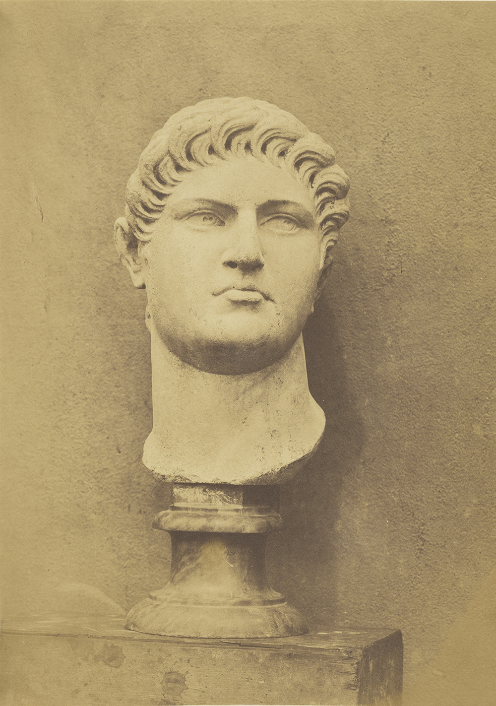Bust of Nero, by Roger Fenton, c. 1854. The J. Paul Getty Museum, Los Angeles. Digital image courtesy the Getty's Open Content Program.